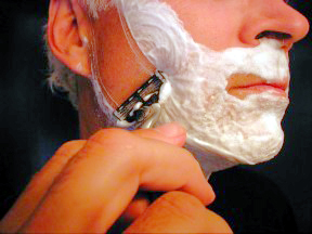 how to get a close shave with the grain